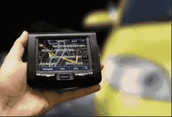 navigare satellitare auto a noleggio