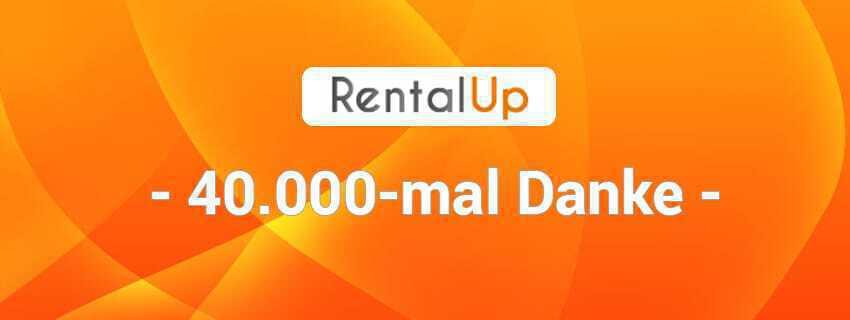 RentalUp erreicht das Ziel von 40.000 Kunden
