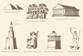 7 meraviglie del mondo antico