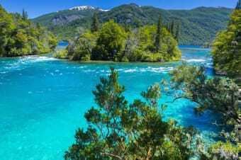 Paesaggio della Patagonia