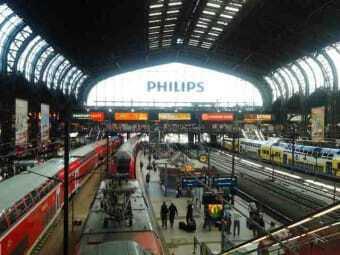 Noleggio auto stazione di Amburgo