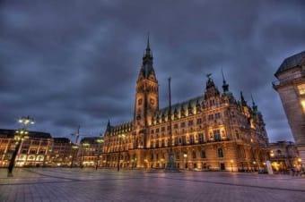 Hamburg by Night