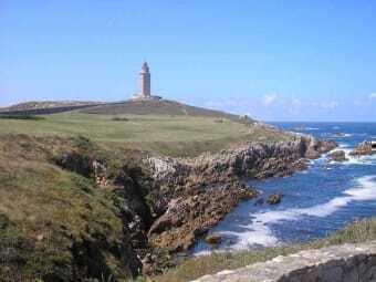 Coast of La Coruna