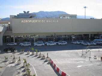 Airport in Malaga