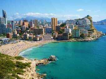 Alicante von oben