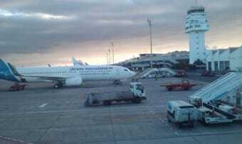 Airport of Tenerife Sud