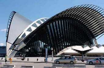Airport of Lyon - Saint Exupéry
