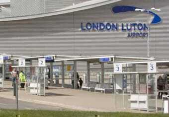 Airport of London - Luton