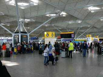 Airport of London - Stansted