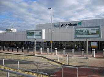 noleggio auto aeroporto Aberdeen