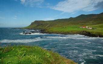 Fiordo in Islanda