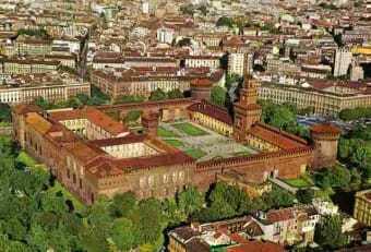 Mailand, Sforzesco Schloss