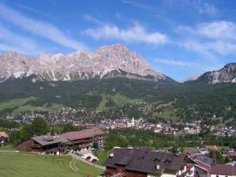 the mountains around Treviso