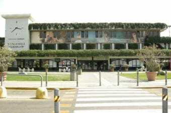 Flughafen in Pisa - Galileo Galilei