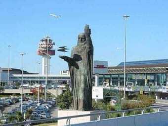 Airport Fiumicino Rome