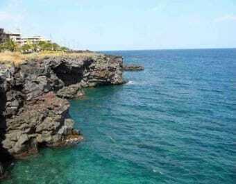 Küste von Catania