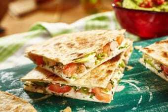 Le quesadillas messicane