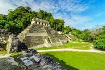 Sito Maya nella Regione del Chiapas