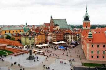 city of Warsaw