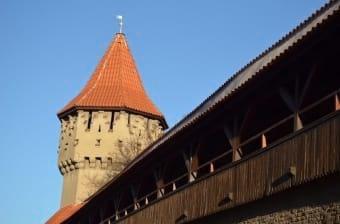 Torre e mura antiche di Sibiu