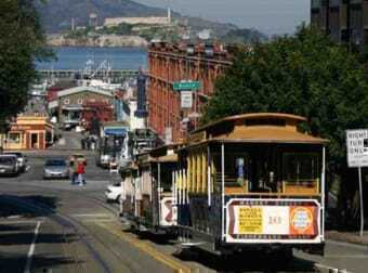 San Francisco and its tram