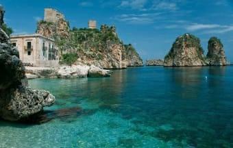Kristallklares Meer in Italien