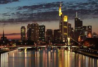 i grattacieli di Francoforte