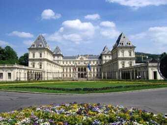 Il Castello del Valentino che accoglie il Politecnico di Torino