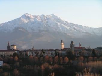 Il fantastico panorama di Cuneo