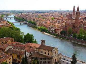 Verona the city of lovers
